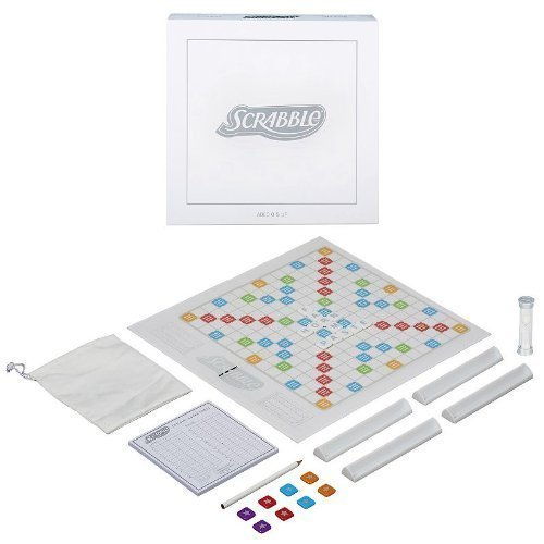 Scrabble Family Game Pearl Edition by Hasbro A6839
