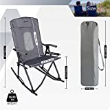 PORTAL Oversized Quad Folding Camping Rocking Chair