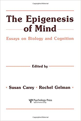 com the epigenesis of mind essays on biology and the epigenesis of mind essays on biology and cognition jean piaget symposia series 1st edition