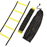 Trademark Innovations Agility Ladder - Training Ladder - Thick Rungs For Extra Durability