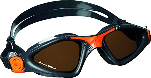 Aqua Sphere Kayenne Polarized Lens Goggles, - Grey Lens Polarized