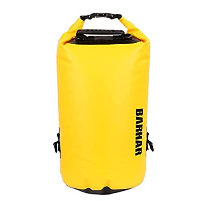 Cather Store Lightweight Folding Waterproof Dry Bags for Canyoning Drifting Swimming Kayaking Rock Climbing Rescue Expedition Backpack 20L
