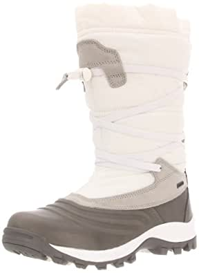 Kamik Women's Mount Roseg Snow Boot,White,7 M US