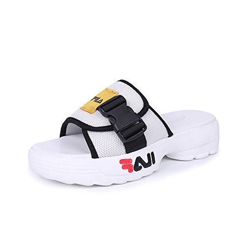 yalanshop cingulate Muffin dames White pour chaussures vFw70FzPq