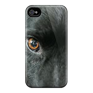 Iphone Case - Tpu Case Protective For Iphone 4/4s- Border Collie Eyes