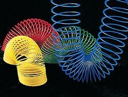Fun Express Plastic Magic Spring Compare To Slinky and Save Novelty (1 Dozen), Assorted Colors by Fun Express (Image #1)