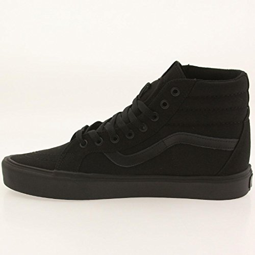 Vans Sk8-hi Lite Plus, Unisex Adults' Hi-Top Sneakers Black (Canvas/Black/Black)