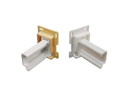 Peachy Rv Designer H307 Drawer Slide Socket Set Shape 2 Per Pack Cabinet Hardware Download Free Architecture Designs Embacsunscenecom