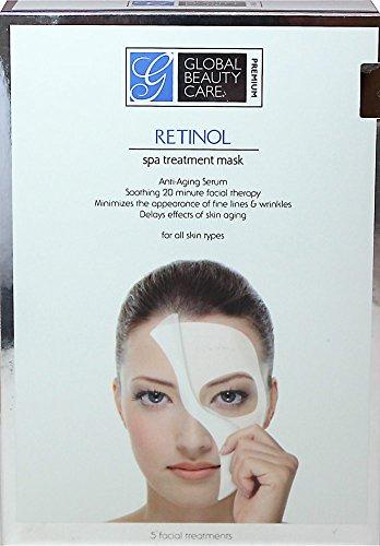 Soin de beauté global - 5 masques de traitement Spa de rétinol