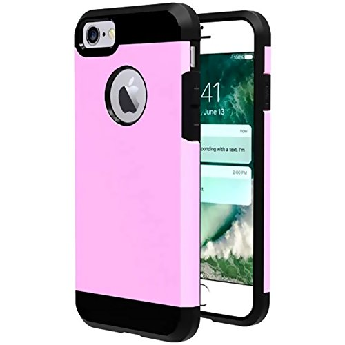 Sheldon Sheep - iBarbe Slim Extreme Heavy Duty Case for iPhone 7 /8,Rugged Hybrid Impact Shockproof Soft Case Rugged Hard PC Anti-slip Cover Armor Resilient Shock Absorption Protection for iPhone 7/8 4.7 inch phone
