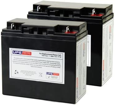 Deltec Pra 1000 Replacement Battery Set