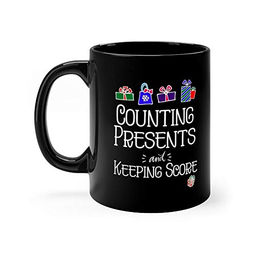 Counting Presents in white Mug Coffee Mug 11oz Gift Tea Cups 11oz Ceramic Funny Gift Mug