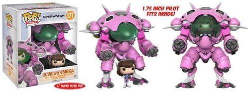 """Funko Figura Overwatch - D.Va with Meka, 6"""""""