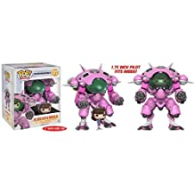 Funko POP Games: Overwatch D.VA & Meka 6