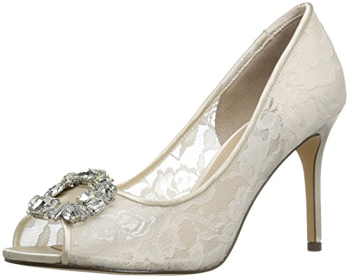 Nina Women's Rhodes Dress Pump, Ivory, 8.5 M US