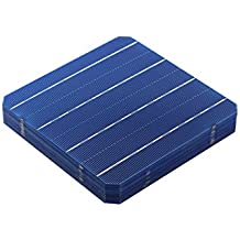VIKOCELL 4.8W Photovoltaic Mono Solar Cell 6x6 for DIY Solar Panel ( pack of 10)