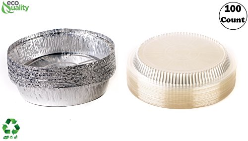 Inch Disposable Round Aluminum Foil Take Out Pans With