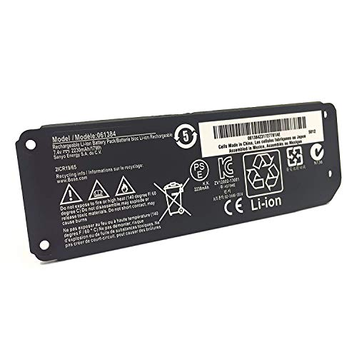 063287 Battery 061385 061384 061386 Compatible with Bose Soundlink Mini I one/Bose SoundLink Mini Bluetooth Speaker one/Bose SoundLink Mini Bluetooth Speaker I/Bose Mini I - 7.4V 17Wh EMAKS
