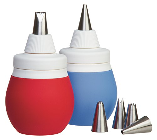Prepworks by Progressive 8-Piece Frosting Bulb Decorating Kit -