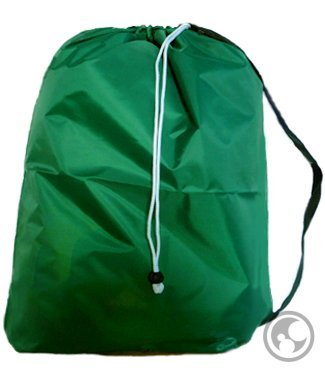 Large Laundry Bag with Drawstring and Strap, Color: