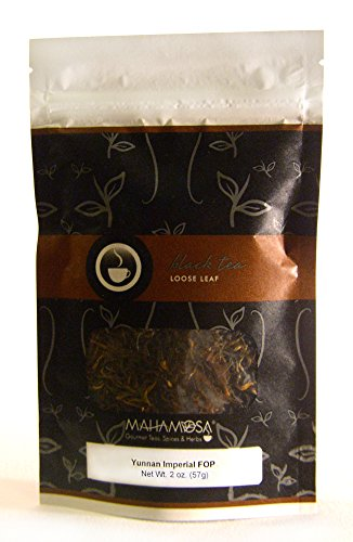 (Mahamosa China Black Tea Loose Leaf (Looseleaf) - Yunnan Imperial FOP 2 oz)