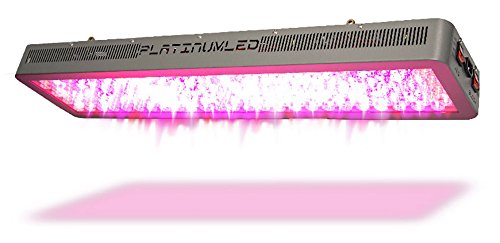 Advanced Platinum Series P600 600w 12-band LED Grow Light - DUAL...