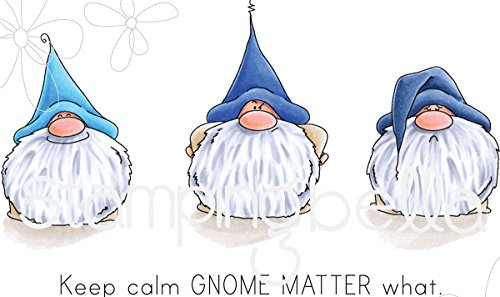 Stamping Bella Cling Stamps-Gnomes Have Feelings Too by Stamping Bella
