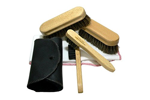 Valentino Garemi Shoe Care Set Cleaning Polishing Buffing for sale  Delivered anywhere in USA