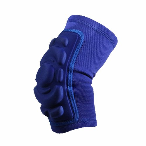 Leegem Adults Bike Football Weightlifting Volleyball Baseball Softball BMX Riding Outdoor Adventure Dumbbell Power Lifting Tennis Protective Flexible Elbow Support Sleeve Padded Arm Warmers (Blue)