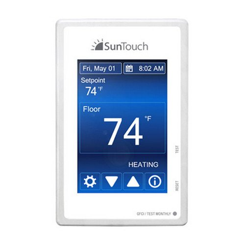 SunStat Command Programmable Thermostat Touchscreen LCD (120 or 240 VAC)