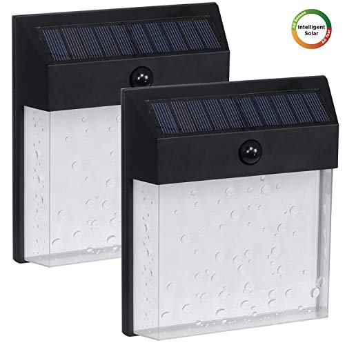 Outdoor Solar Sconce Lights in US - 9