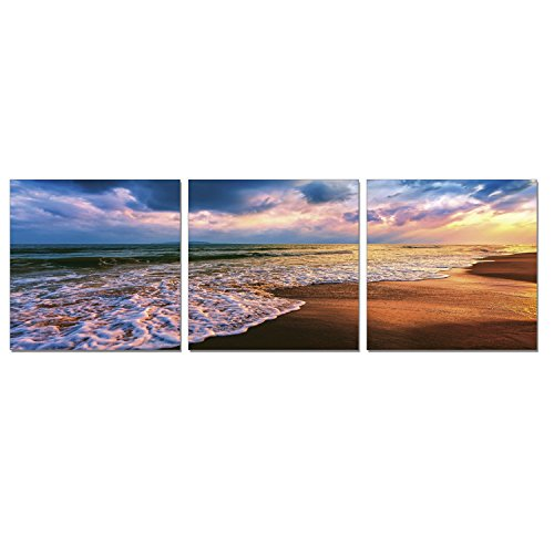 FURINNO 3 Panel Framed Photography Triptych