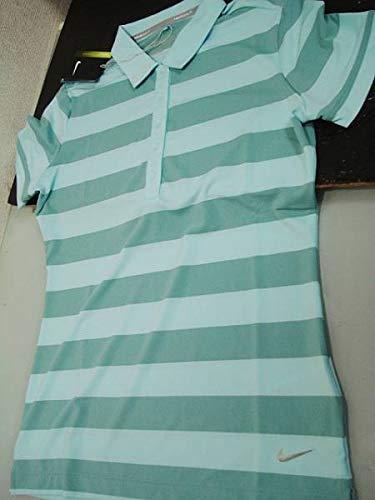 ナイキ ボールドストライプ 半袖ポロシャツ レディース 587434 493 size;M