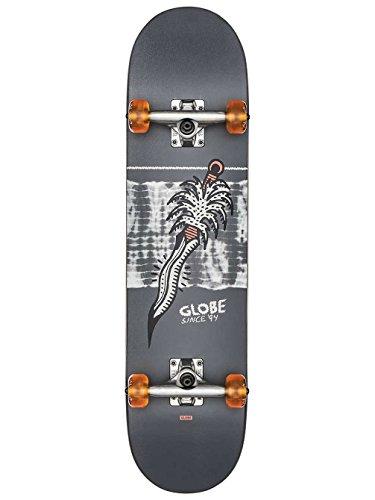 Globe Skateboards G2 Palm Prick Street Complete, Black/Coral
