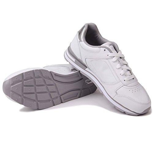 Sneaker Da Donna Classiche Slazenger Stringate A Forma Di Caviglia Con Sneaker Bianco / Argento