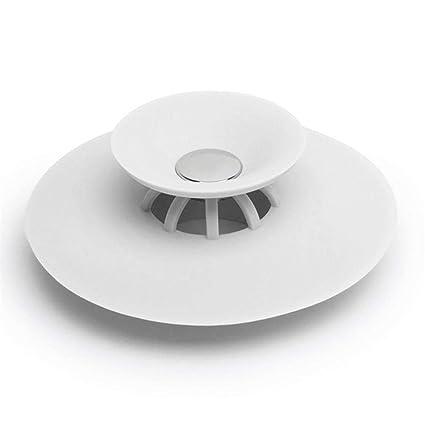 Starter - Tapón de desagüe de silicona para el suelo, desodorante 2 en 1