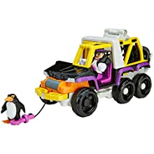 Fisher-Price Imaginext DC Super Friends The Penguin & 6 Wheeler - Figures, Multi Color
