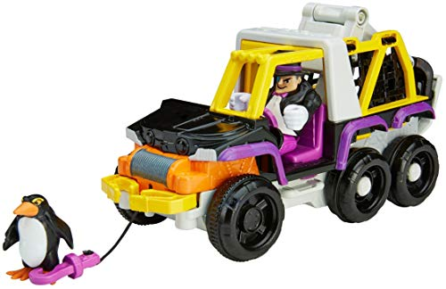 Fisher-Price Imaginext DC Super Friends The Penguin & 6 Wheeler - Figures, Multi Color -