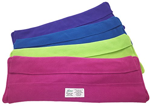 Wet Mop Pads for Swiffer Sweeper - 2 Sided Fleece & Terry Cloth - Washable Reusable by Xanitize (4-Pack) (X-Large, Purple, Blue, Green, Pink)