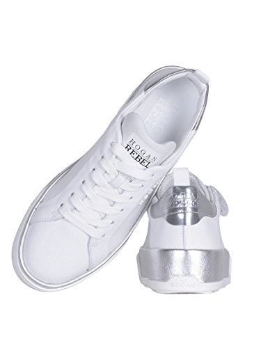 Hogan Rebel Sneakers Donna HXW3200X630GGB0351 Pelle Bianco
