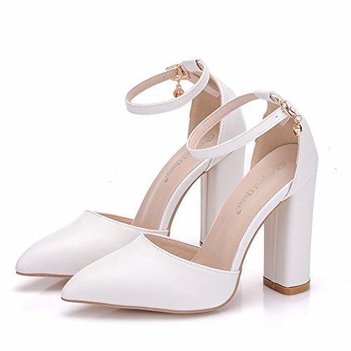 de Delgada de Sexy Zapatos Mujer Tac Zapatos 41qffw0