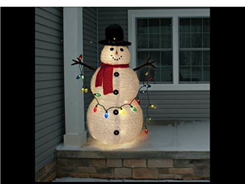 Snowman Outdoor Decoration by SNOW