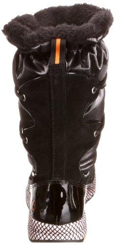 Rockport Zana Duck Scrunch Boot K71383, Stivali da neve donna Nero (Schwarz (Black))