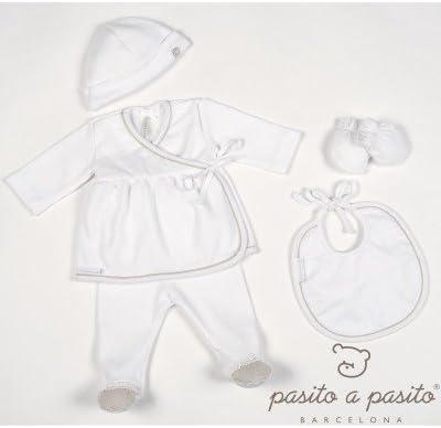 Pasitto a Pasito - Pack Primera puesta Girl Pasito a Pasito Sweet T/0 meses blanco: Amazon.es: Bebé