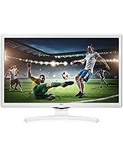 "LG 24TK410V-WZ - Monitor/TV de 24"" Led TDT2 HD-Ready (1366 x 768 px, Modo Juego, Anti parpadeo, 200 Hz MCI, USB AutoRUN), Blanco"