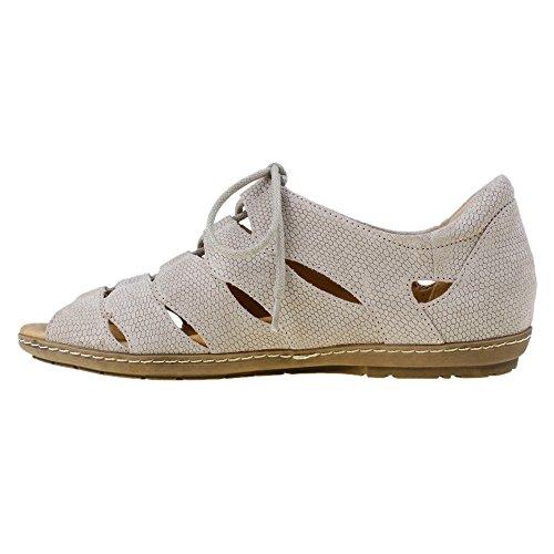 Sandalo Gladiatore Donna Delle Terre Terra, Talpa, 8,5 C / D Us