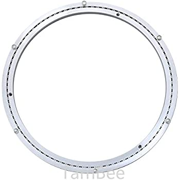 1pc 18/'/' 450mm Home Hardware Aluminum Round Lazy Susan Bearing Turntable
