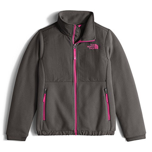 North Face Girls G DENALI JACKET, Graphite Grey, Small (Denali Girls Fleece Jacket)