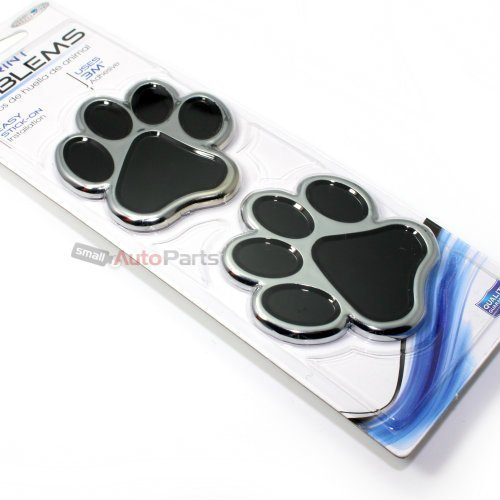 C Accessories Paw Print Emblem Black