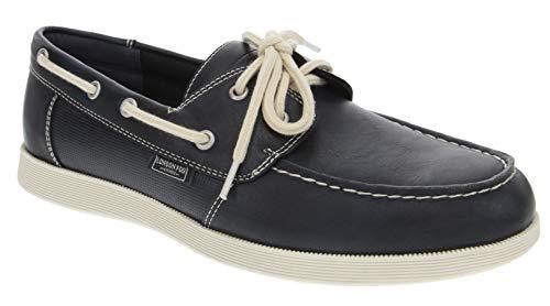 - London Fog Mens Harrow Boat Shoe Navy 10